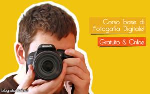 Corso di Fotografia gratuito