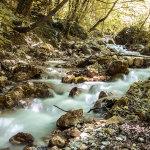 Foto acqua effetto seta