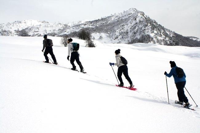 foto sulla neve