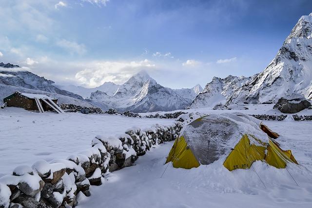 panorama sulla neve